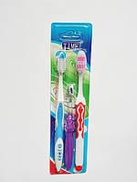 """Набор зубных щёток 3 шт. """"Семейный"""""""