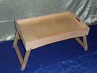 Поднос раскладной Столик 51х30х27 см дерево заготовка для декора