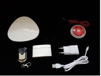 Беспроводная Wi-Fi сигнализация для дома, дачи, гаража комплект Wofea V10  (комплект економ)