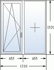 Окно металлопластиковое теплое Steko (870 х 1170). ДОСТАВКА ПО УКРАИНЕ БЕСПЛАТНО!