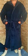 Теплый  махровый/банный  мужской  халат  46-58р, доставка по Украине,есть бесплатная доставка