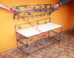 Мебель в прихожую (кованая банкетка и вешалка ) 1