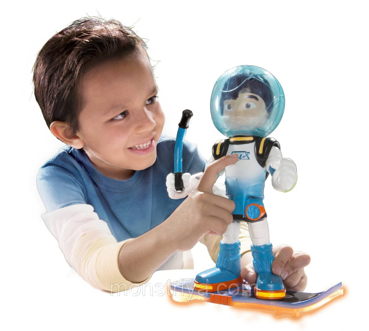 МАЙЛЗ С БЛАСТБОРДОМ  25 см Miles From Tomorrowland