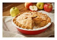 Яблочная шарлотка – быстрый и вкусный осенний пирог.