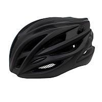 Шлем велосипедный защитный Helmet 002 Black велошлем аксессуар для велосипедистов катания
