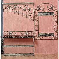 Мебель в прихожую (кованая банкетка и вешалка ) 3