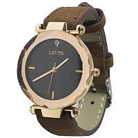 Часы наручные LSVTR 2018 Brown женские с мягким браслетом кварцевые для девушек