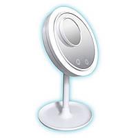 Зеркало косметическое с подсветкой Brise Fraiche Led 3 в 1 с вентилятором светодиодная лампа для макияжа