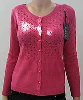 Кофта розовая на пуговицах, фото 1