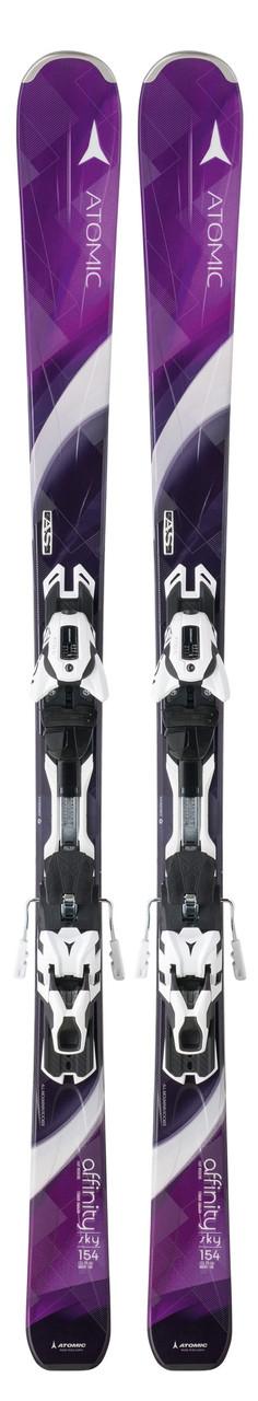 Горные лыжи женские Atomic Affinity Sky XT berry/black & XT 10 Ti (MD)