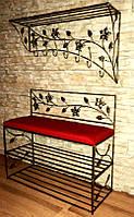 Мебель в прихожую (кованая банкетка и вешалка ) 6