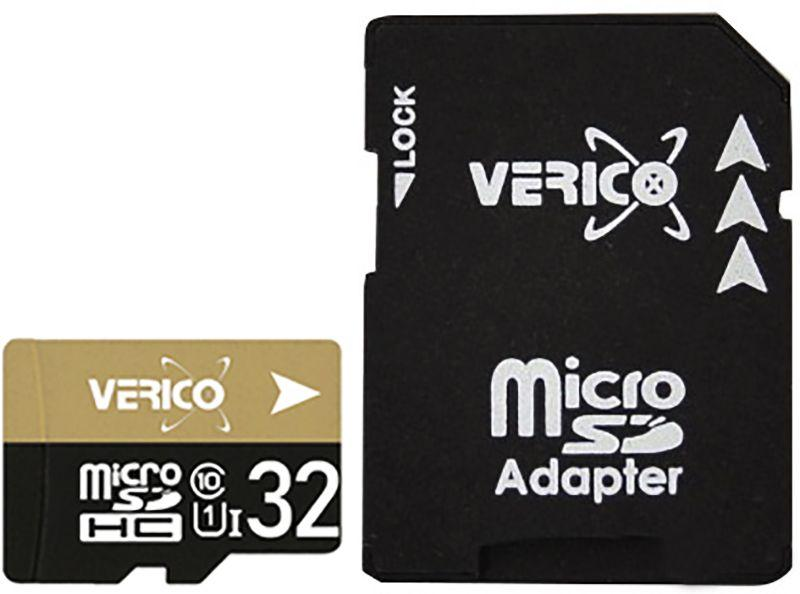Карта памяти Verico microSDHC/SDXC Class 10 UHS-I SD adapter 32 Gb #I/S