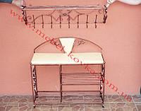 Мебель в прихожую (кованая банкетка и вешалка ) 9