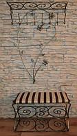 Мебель в прихожую (кованая банкетка и вешалка ) 10
