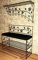 Мебель в прихожую (кованая банкетка и вешалка ) 7