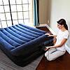 Надувная кровать Bestway 152х203х46 см, с встроенным электронасосом. Двухспальная, фото 6