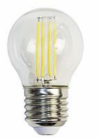 Лампа светодиодная filament 2W, P45 E27 4000K 220-240V