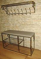 Мебель в прихожую (кованая банкетка и вешалка ) 12