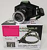 Ультрафиолетовый аккумуляторный налобный фонарь BL-6903-2 с зарядкой, фото 10