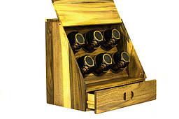 Скринька схованку - Подарунок чоловіка дружині хлопцеві дівчині чоловічий жіночий органайзер з дерева для годинників, особистих речей
