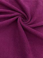 Флис, флисовая ткань (ш 160 см) цвет фуксия для пошива взрослой и детской одежды,поделок, подкладок