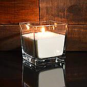 Белые насыпные свечи 1 кг + 1 м фитиля, гранулированный пальмовый воск.