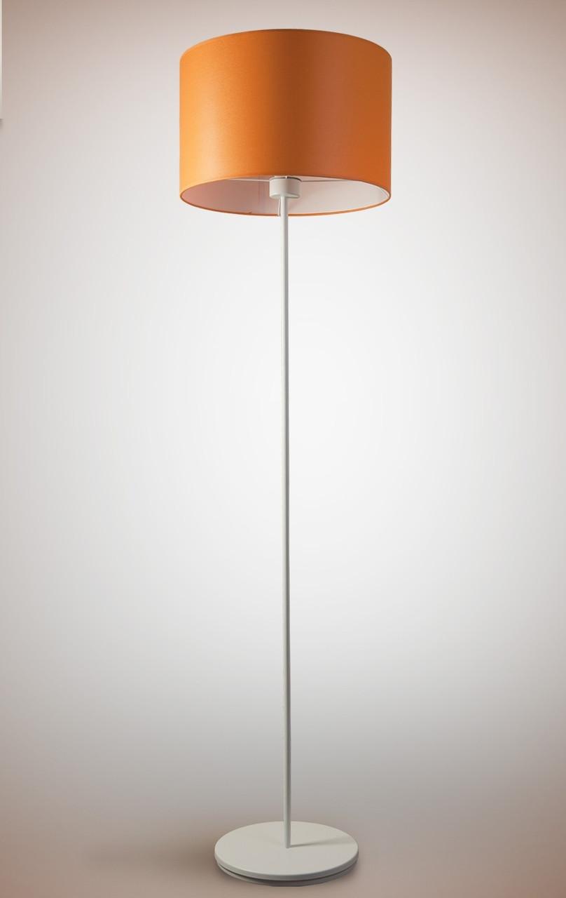 Торшер 1 ламповый c тканевым абажуром цилиндр Цилиндр 10230