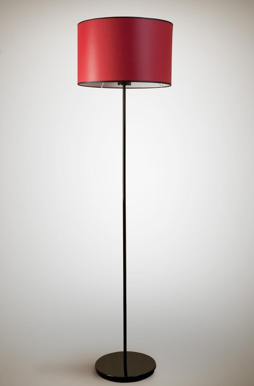 Торшер 1 ламповый c тканевым абажуром цилиндр  Цилиндр 10230-2