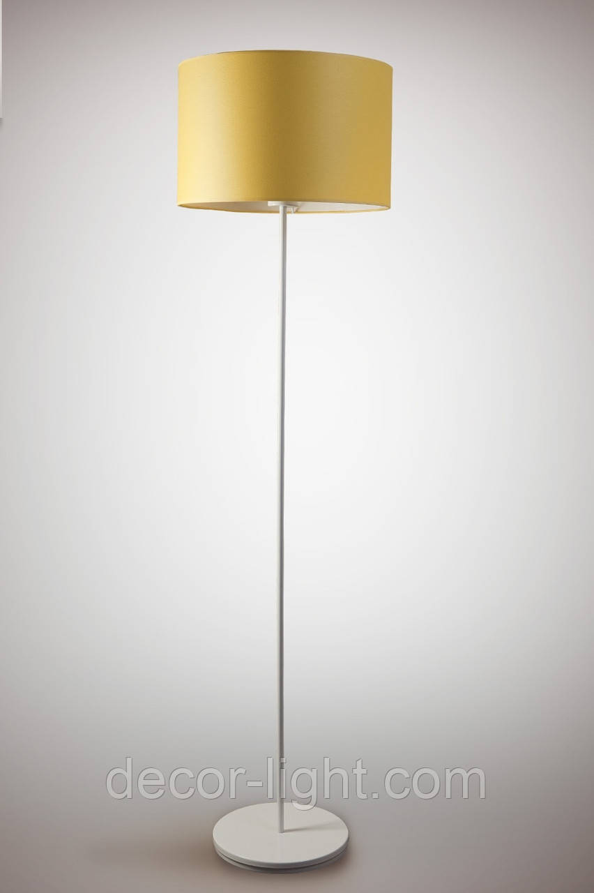 Торшер 1 ламповый c тканевым абажуром цилиндр  Цилиндр 10230-3