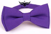 Галстук-бабочка фиолетовая