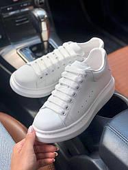 Кеды женские Alexander McQueen White Белые