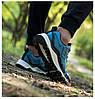 Кроссовки Xiaomi FreeTie Knob Strap Outdoor Running Shoes Blue Синие, фото 3