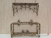 Мебель в прихожую (кованая банкетка и вешалка ) 18