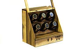 Унісекс скринька схованку для годин прикрас. Іменний аксесуар, оригінальний подарунок коханому чоловікові коханій дружині