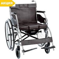 Инвалидная коляска OSD-H003B складная с санитарным оснащением