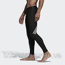 Мужские леггинсы адидас Alphaskin Sport+ 3-Stripes DQ3561 (2020/2), фото 2