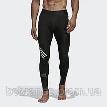 Мужские леггинсы адидас Alphaskin Sport+ 3-Stripes DQ3561 (2020/2), фото 3