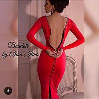 Шикарное платье со змейкой на спине, фото 1