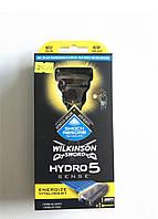 Станок для бритья Wilkinson Sword Hydro 5 Sens,  бритва с 1 сменной кассетой