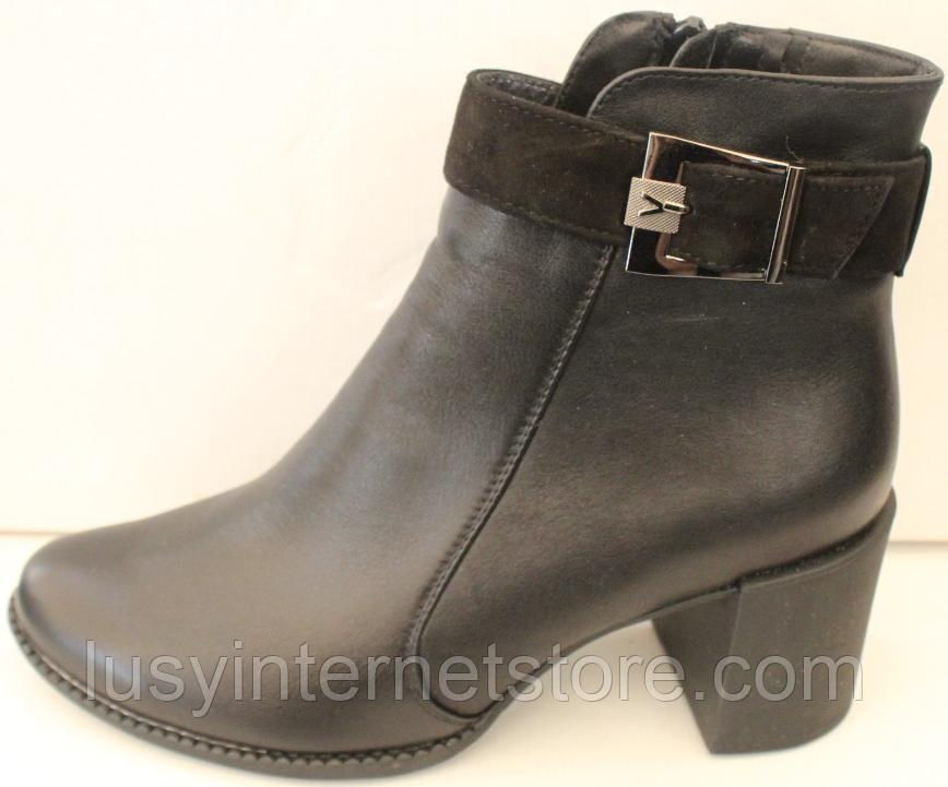 Ботинки женские на байке от производителя модель КС4120