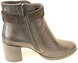 Ботинки женские на байке от производителя модель КС4120, фото 3