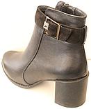 Ботинки женские на байке от производителя модель КС4120, фото 4
