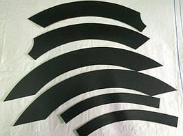 Накладки на колісні арки (6 шт, пластик) Renault Master 2004-2010 рр.