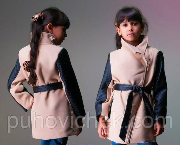 Детскую кашемировую куртку для девочки
