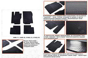 Гумові килимки (4 шт, Stingray Premium) Mercedes GL klass X164