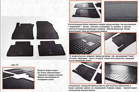 Nissan Juke 2010↗ рр. Гумові килимки (4 шт, Stingray Premium)