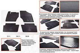 Peugeot 308 2007-2013 рр. Гумові килимки (4 шт, Stingray Premium)