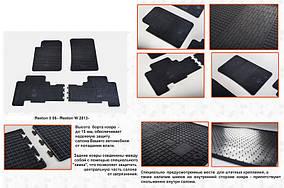 SsangYong Rexton II 2008↗ і 2013↗ рр. Гумові килимки (4 шт, Stingray Premium)