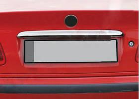 BMW 3 серія E-36 1990-2000 рр. Хром планка над номером Нержавійка