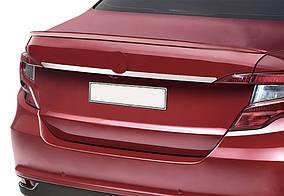 Fiat Tipo 2016↗ рр. Хром планка над номером (нерж) Sedan (хром)